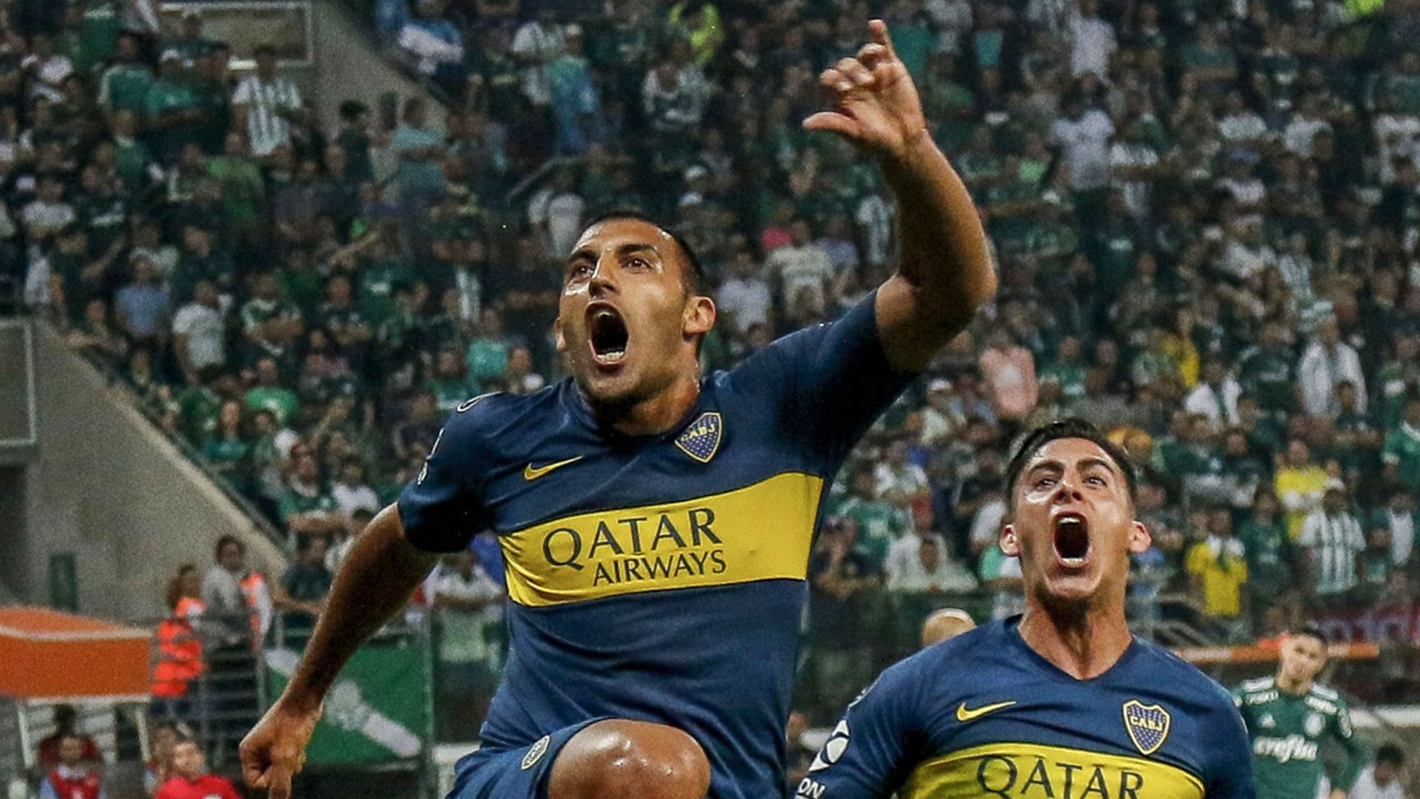 AFP Palmeiras-Boca Juniors semifinales Copa Libertadores 2018