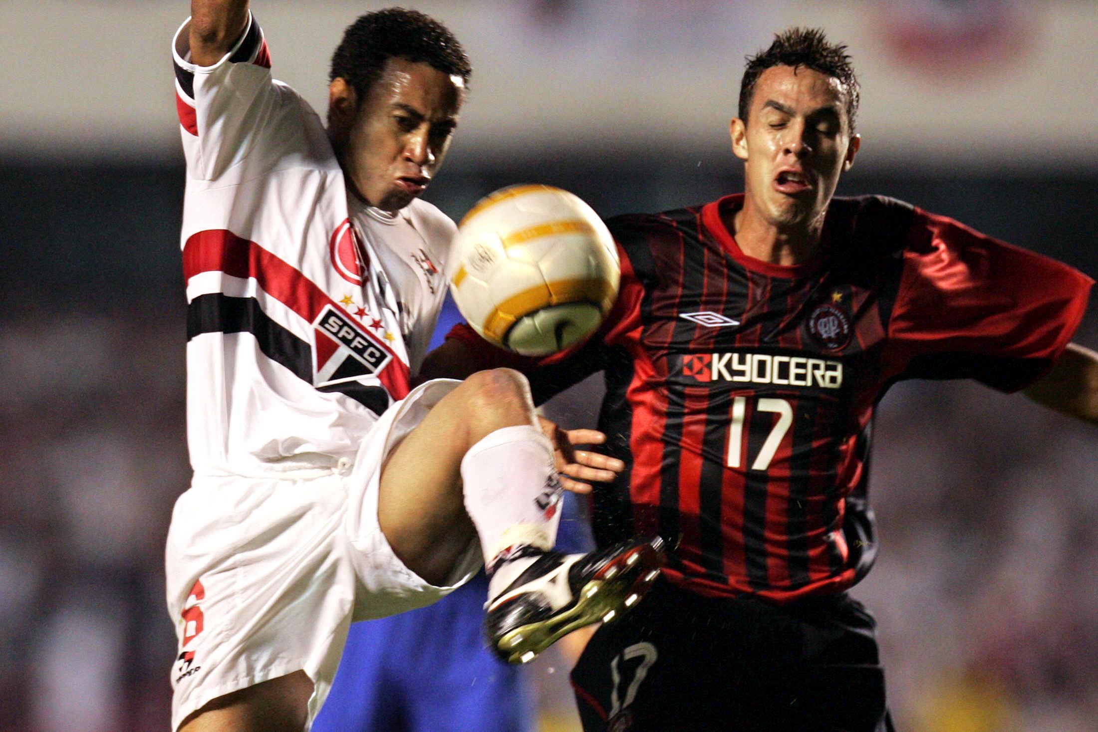 São Paulo Atlético-PR Copa Libertadores 2005