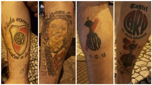Tatuajes River Plate Recopa