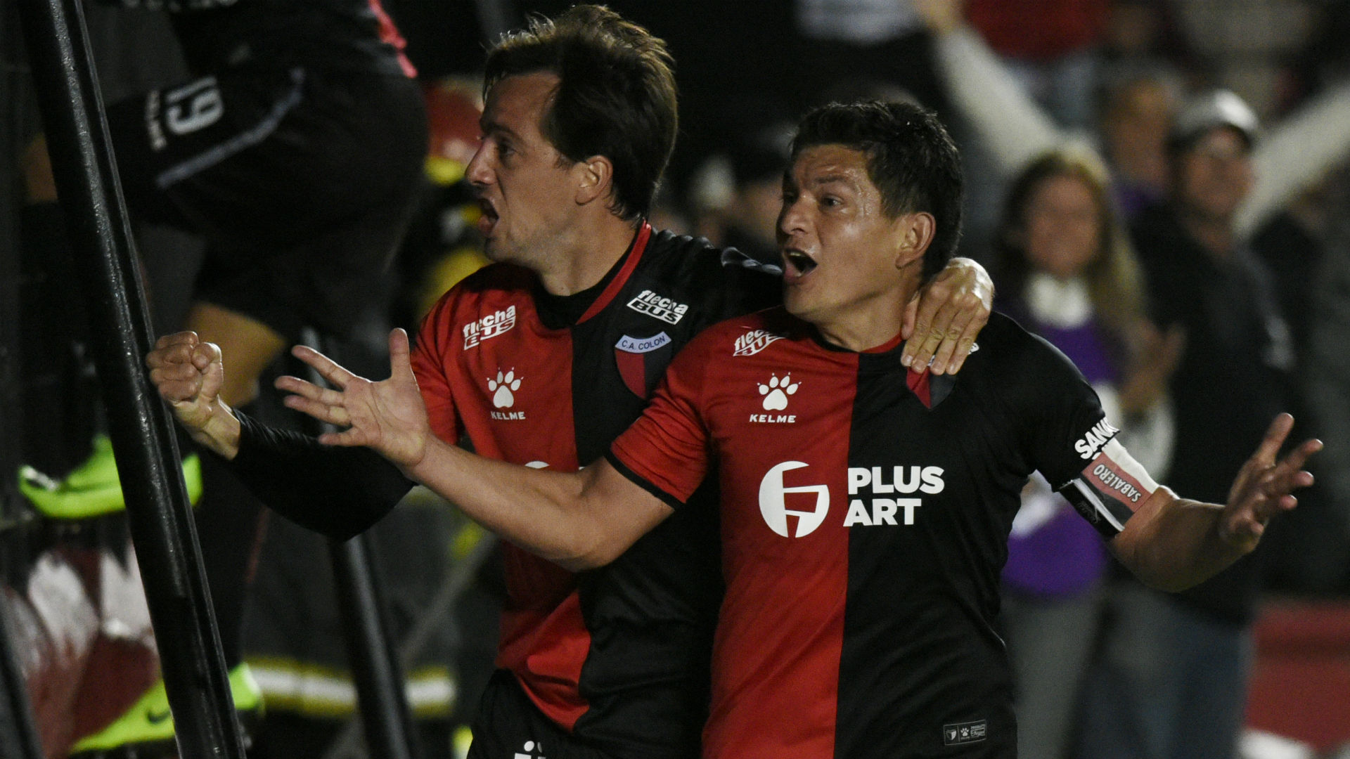 Pulga Rodríguez Colón Atlético Mineiro Copa Sudamericana