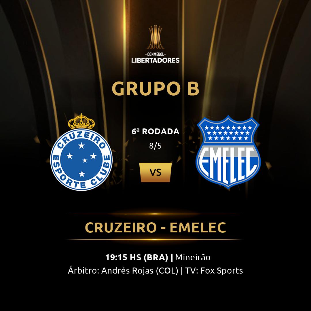 Cruzeiro vs Emelec