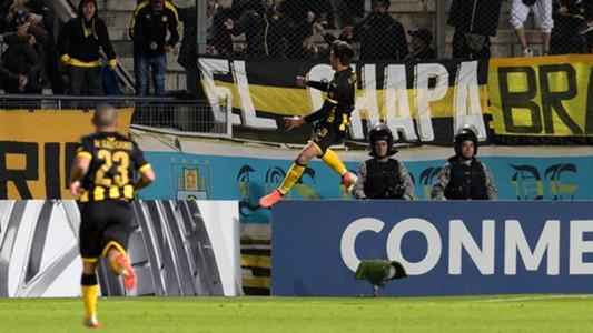 AFP Agustín Canobbio Peñarol Copa Sudamericana 2019