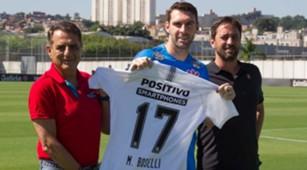 Boselli apresentado no Corinthians