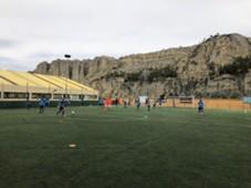 Deportivo La Guaira entrenamiento La Paz Bolivia