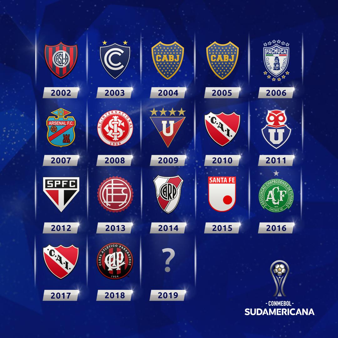Campeones de la Copa Sudamericana