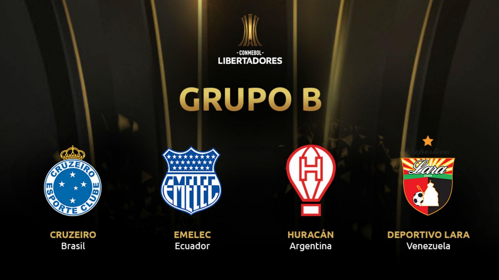 Grupo B Copa Libertadores 2019