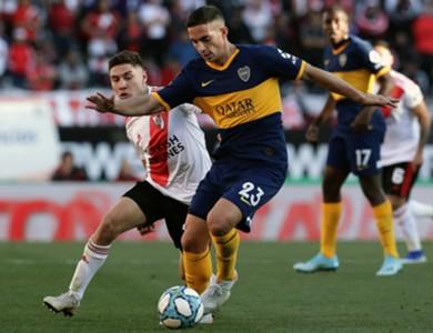 Ivan Marcone Gonzalo Montiel River Plate Boca Juniors Superliga 01092019