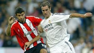 AFP Real Madrid-River Santiago Bernabéu Javier Mascherano