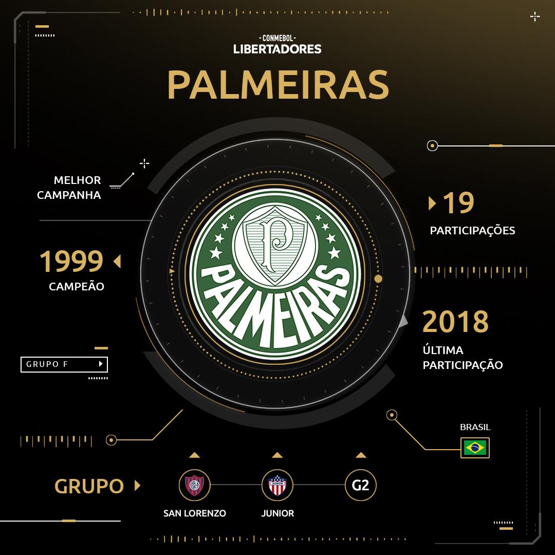 Arte Palmeiras Libertadores 2019