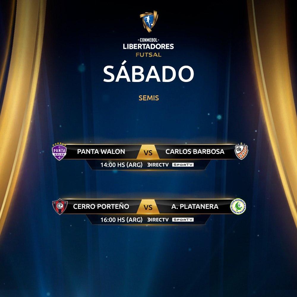 Futsal - sábado - Libertadores