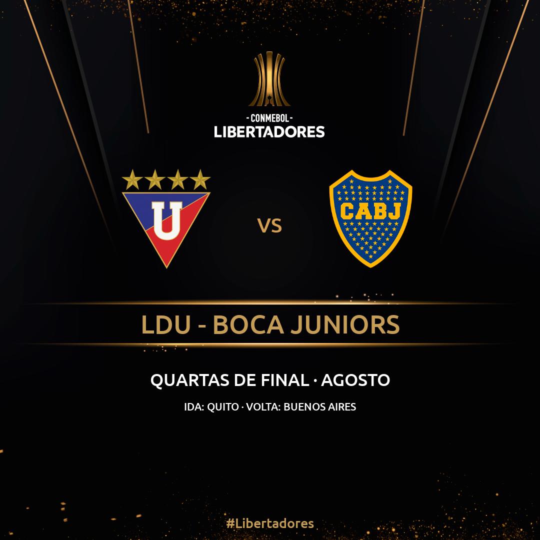 LDU x Boca - Libertadores