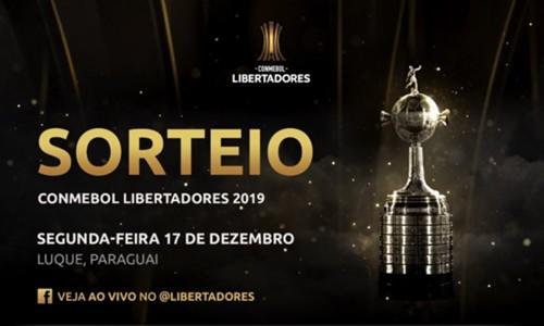sorteio - Libertadores