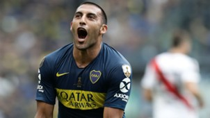 AFP Ramon Wanchope Abila Boca Juniors River Plate Copa CONMEBOL Libertadores 11112018