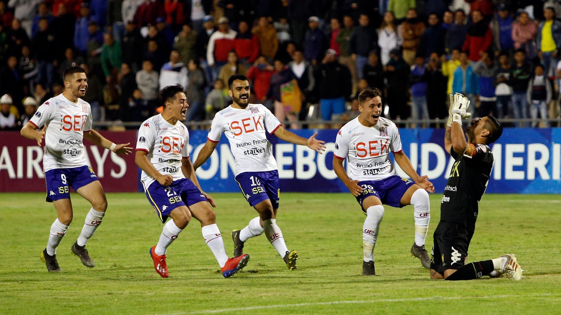 AFP Union Espanola Copa Sul-Americana