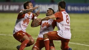 AFP Deportivo Cali Independiente Santa Fe Copa CONMEBOL Sudamericana 30102018 Wilson Morelo