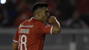 AFP Silvio Romero Independiente Copa Sudamericana