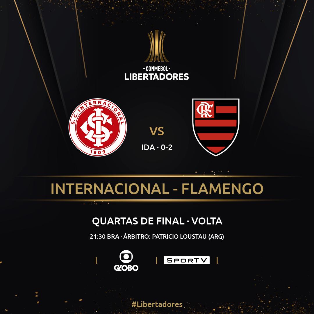 Internacional vs Flamengo