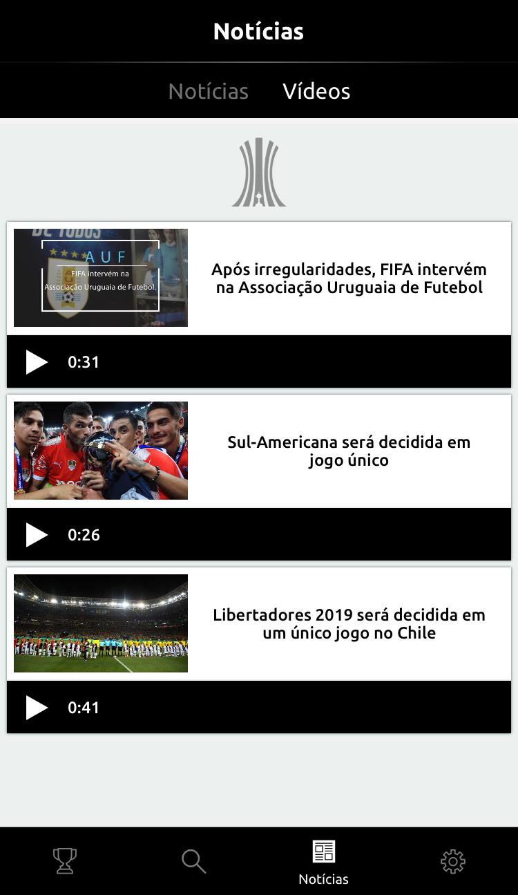 Vídeos: print app