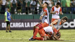 AFP Deportivo Cali Independiente Santa Fe Copa CONMEBOL Sudamericana