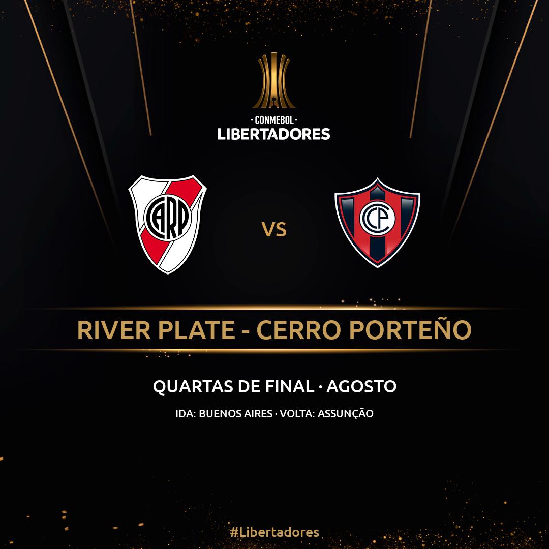 River Plate Cerro Porteno Oitavas de final Libertadores 2019