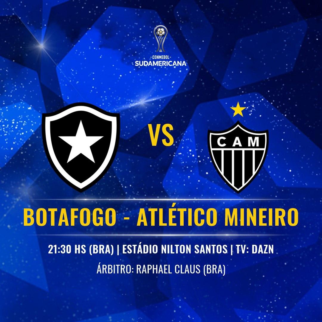 Botafogo Atlético-MG Copa Sul-Americana 2019