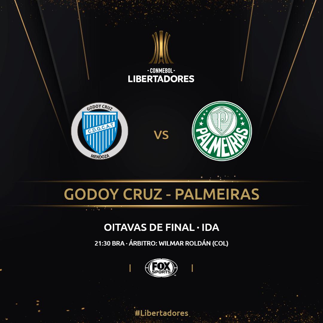 Placa Godoy Cruz x Palmeiras