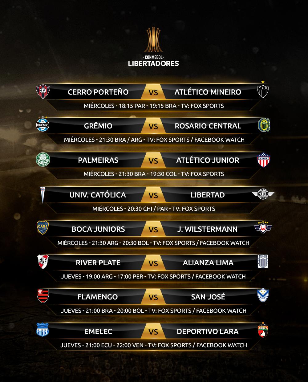 Agenda Libertadores