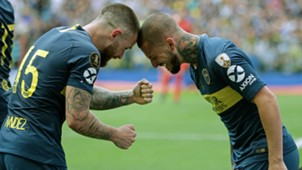 AFP Boca Juniors River Plate Copa CONMEBOL Libertadores 11112018 Dario Benedetto Nahitan Nandez