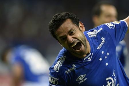 AFP Cruzeiro Fred Copa Libertadores