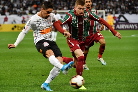 AFP Corinthians Fluminense Sul-Americana 2019