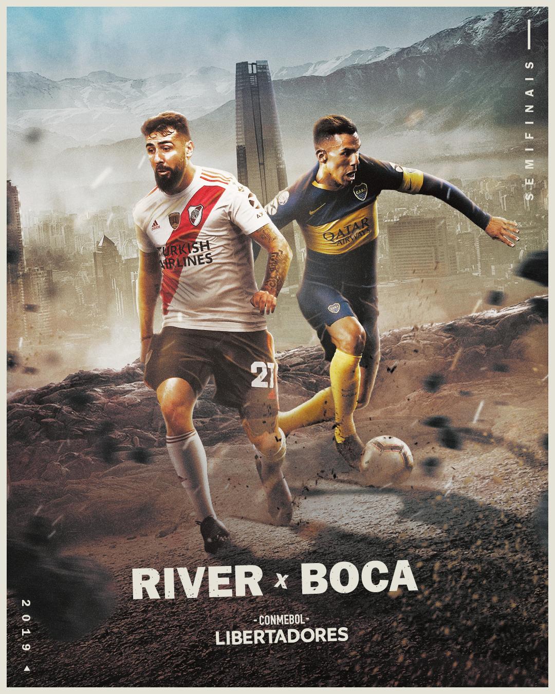 River x Boca