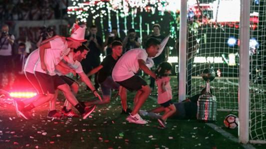 AFP River fiesta campeón Copa Libertadores 2018