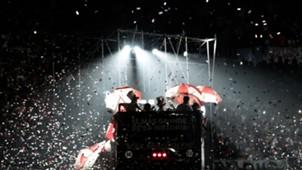 AFP festejo River campeón Copa Libertadores 2018