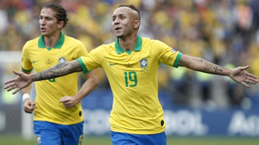Everton Gremio Copa América AFP