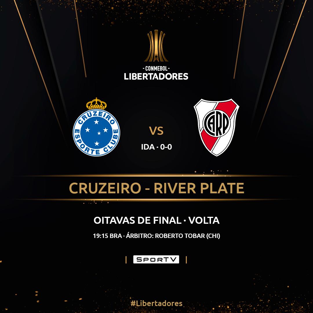 Placa Cruzeiro x River