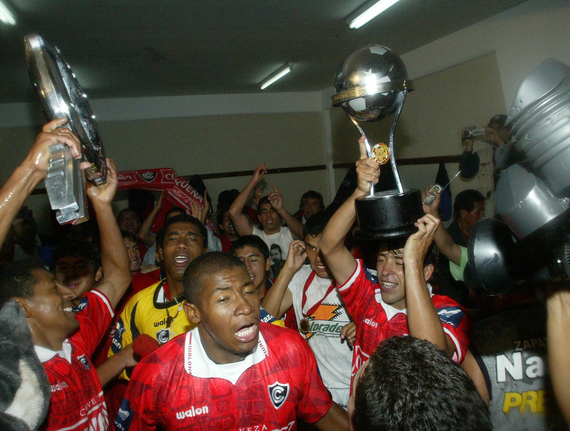 AFP Cienciano CONMEBOL Sudamericana 2003