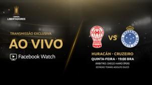 Huracán x Cruzeiro - Facebook