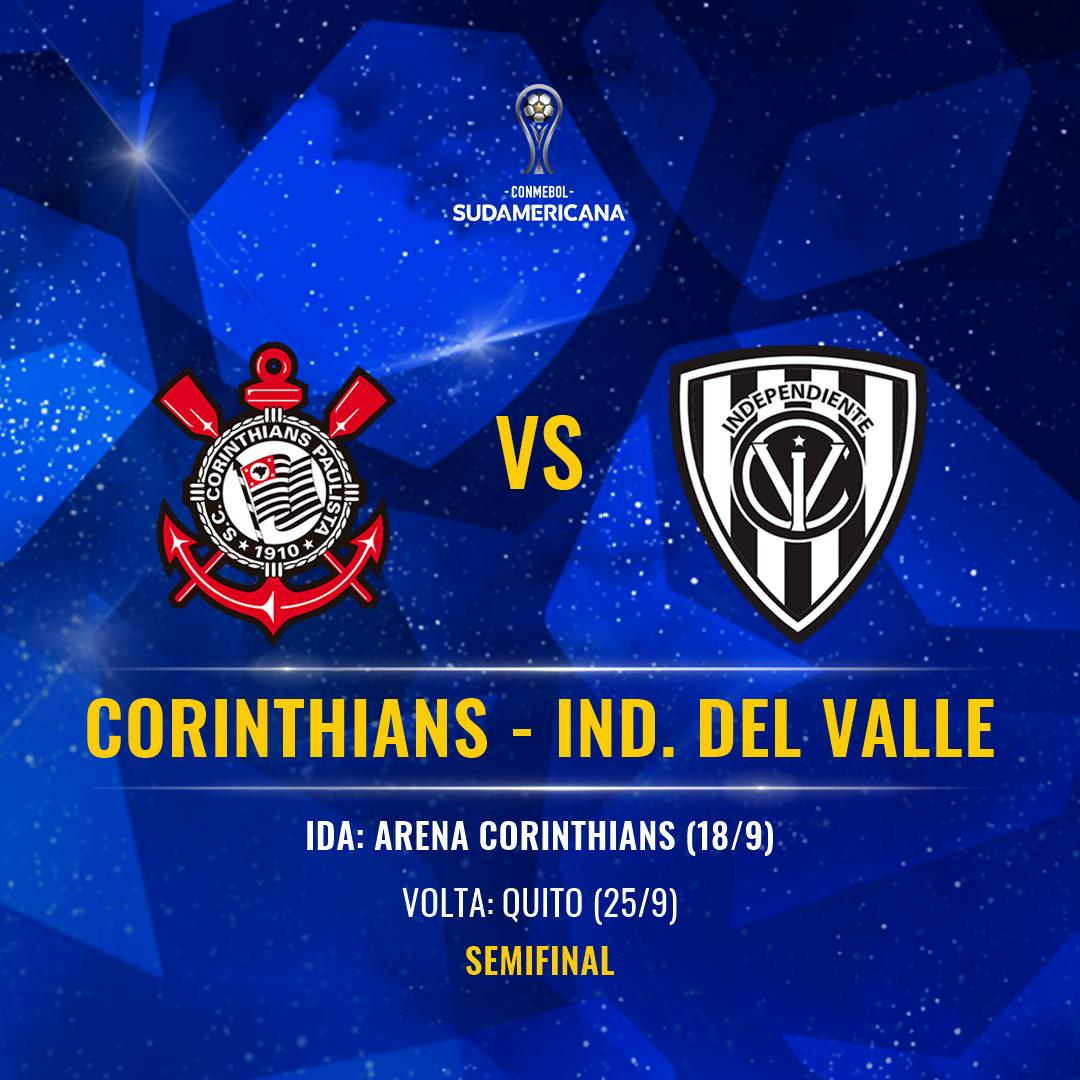 Corinthians vs Del Valle