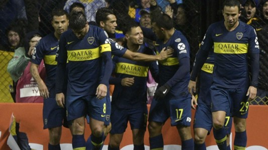 AFP Boca Juniors-Libertad Copa Libertadores