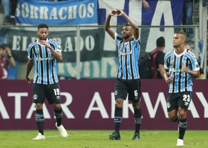 Leonardo em Grêmio x Rosario Central