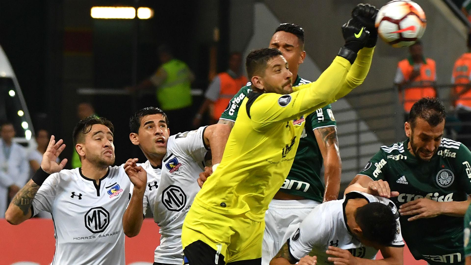 AFP Agustin Orion Palmeiras Colo Colo CONMEBOL Libertadores