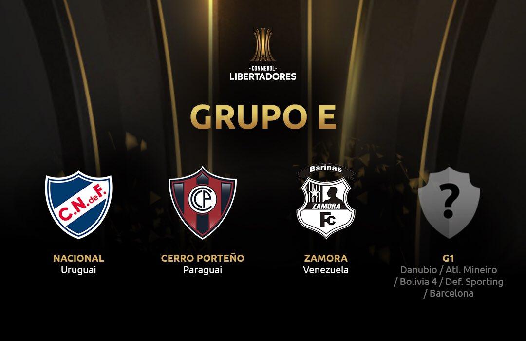 Grupo E - Libertadores