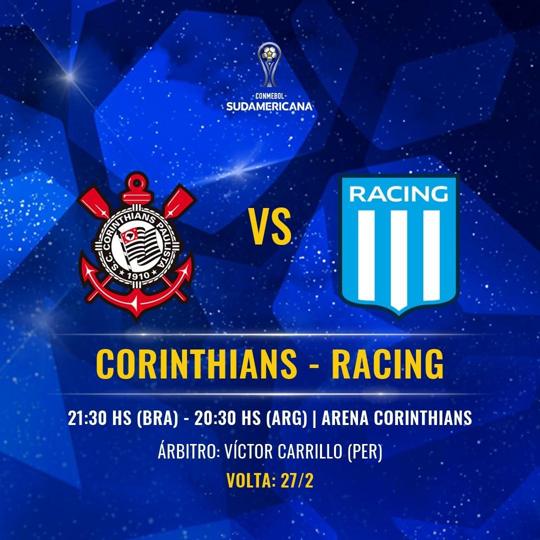 Corinthians x Racing