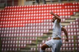 Fred comemora gol contra o Deportivo Lara
