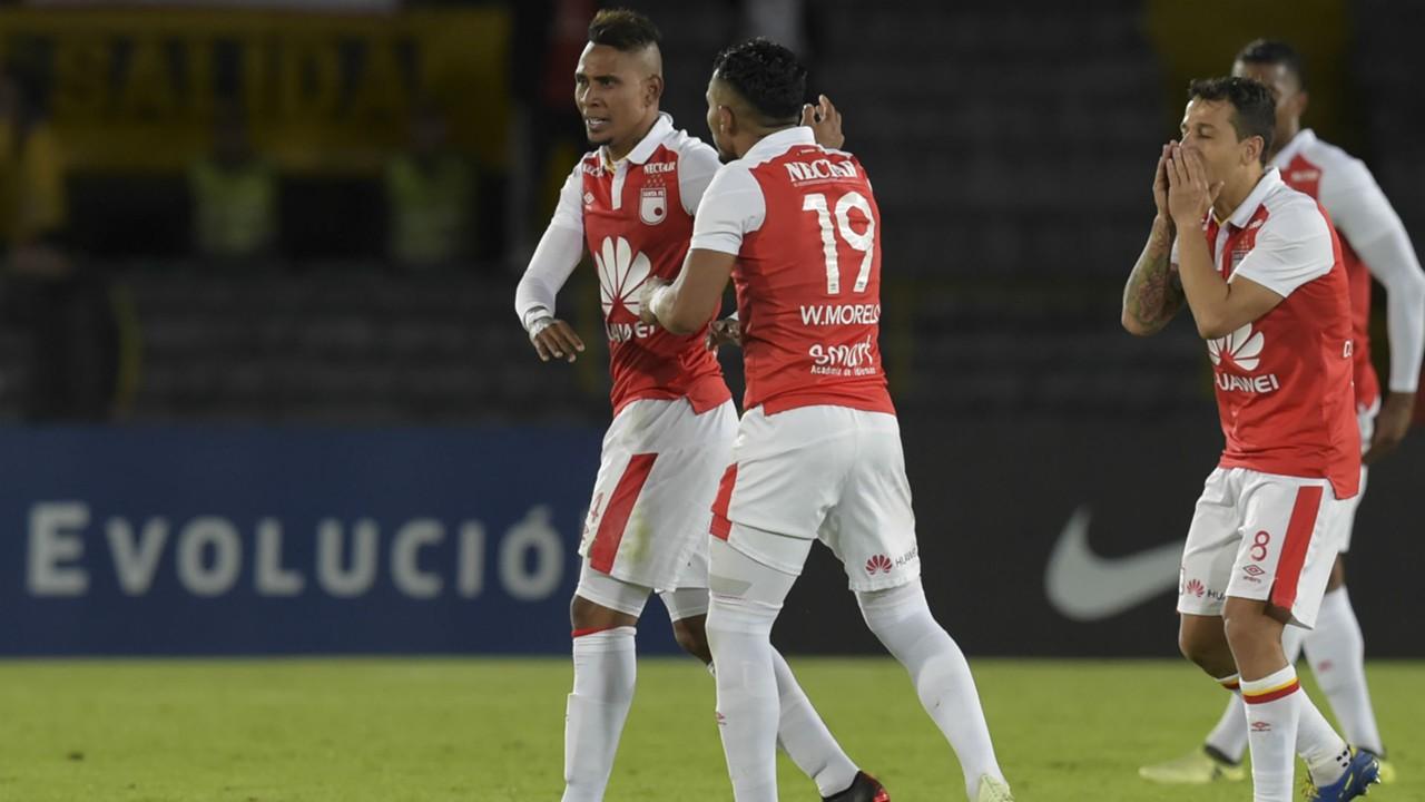 AFP Independiente Santa Fe Deportivo Cali CONMEBOL Sudamericana