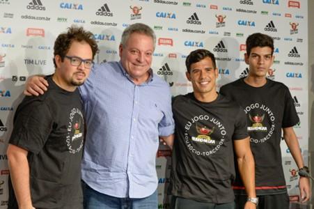 Abel Braga foi apresentado no Flamengo