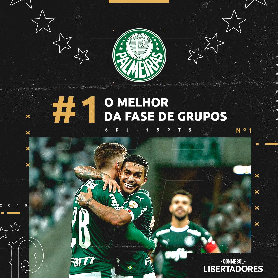 Palmeiras - melhor da fase na Libertadores
