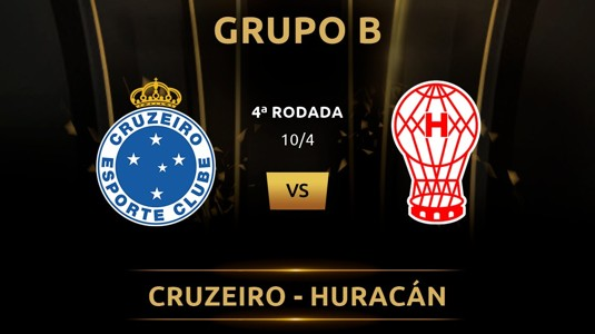 Cruzeiro vs Huracan