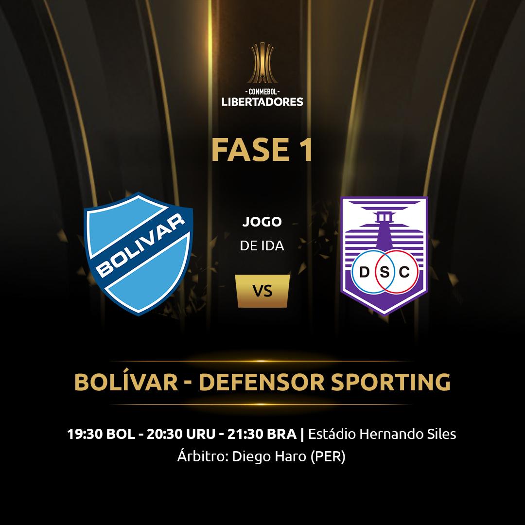 Arte Bolivar Defensor Libertadores 2019