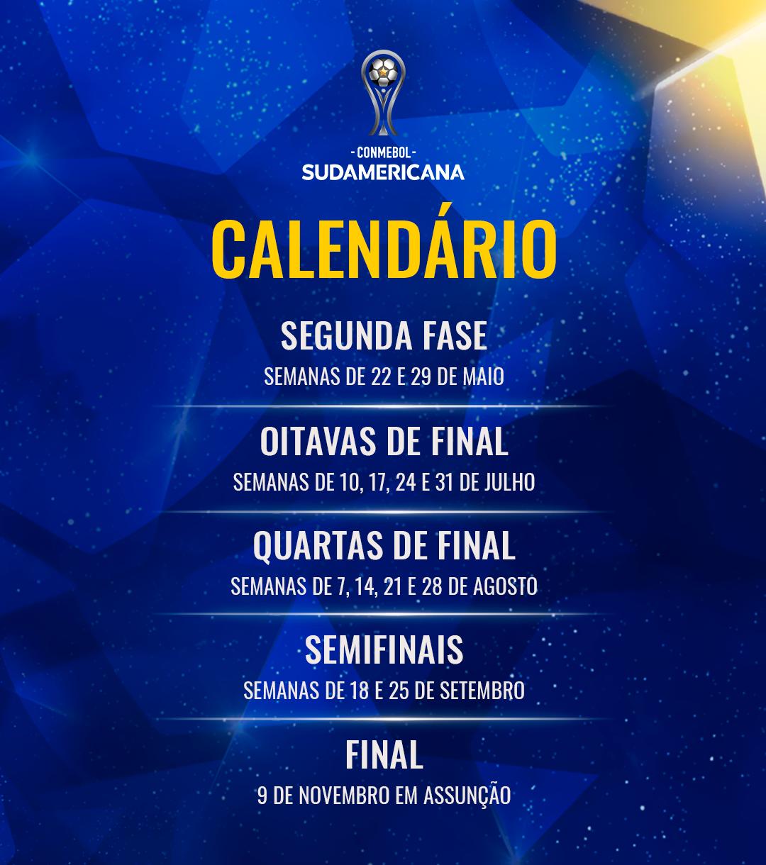 Calendário - Sul-Americana